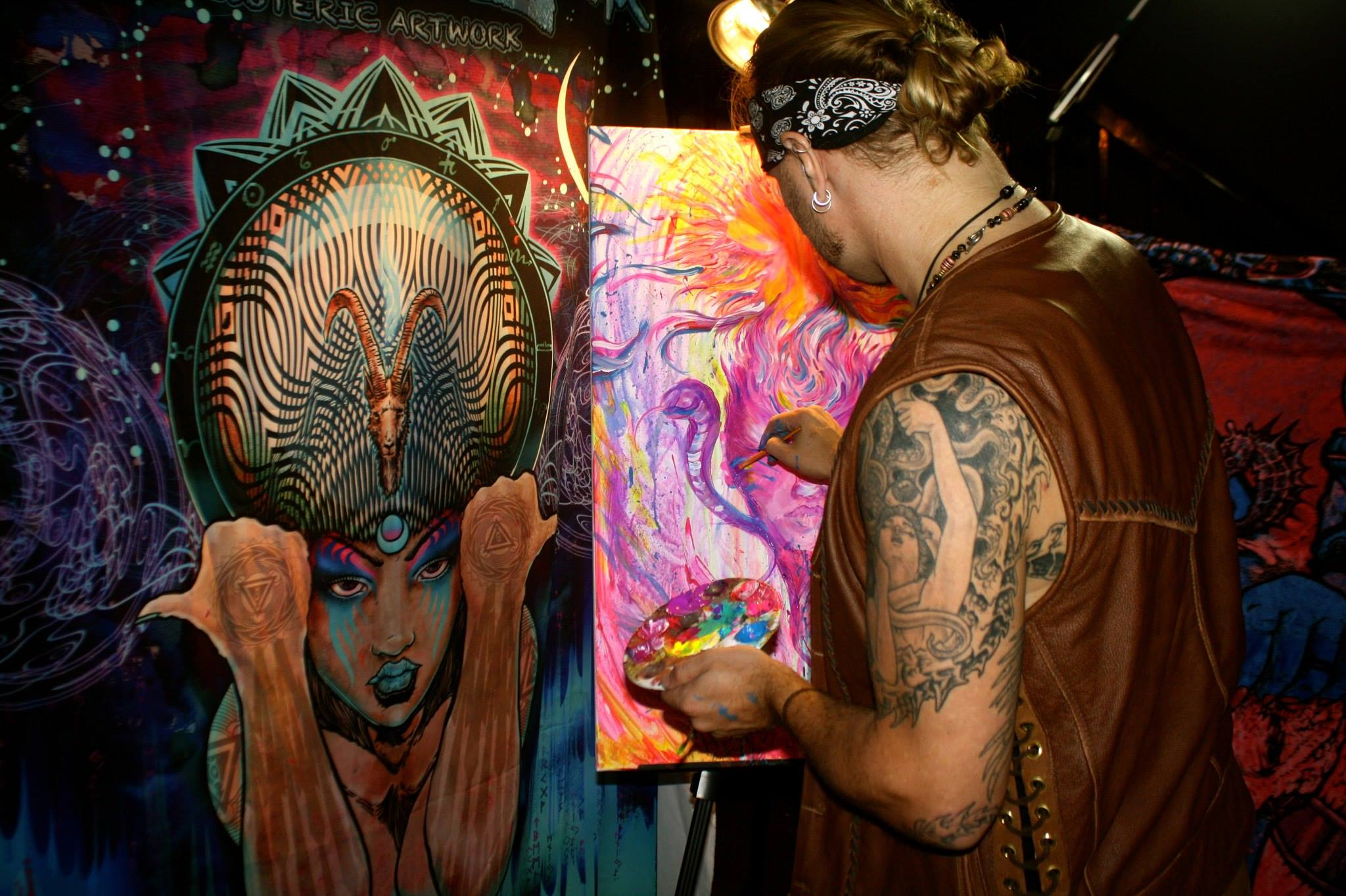 TOM DENNEY LIVE ART
